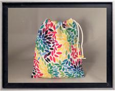 Gymnastics Leotard Grip Bags / Rainbow of Leaves Gymnasts Birthday Goody Bag