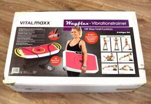 Vibro Shake It Vibrationstrainer VITALMAXX Ganzkörper Step-Twist-Funktion NEU *