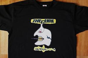 """T-Shirt du groupe THE CURE """"European Tour 1984"""""""