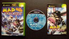 MAD DASH RACING : JEU Microsoft XBOX (courses COMPLET envoi suivi)