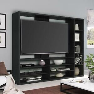 "Entertainment Center for TVs up to 55"", Ideal TV Stand for Flat Screen, Mainstay"