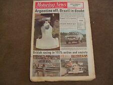 Motoring News 1 January 1976 1975 MN & British Rally Review Allegro 2 1750 Test
