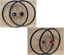 "Mavic 319 Rims 2 Colors Novatec MTB Mountain Bike 26"" F&R Wheels Disc Wheelset"