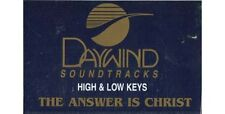 The Answer is Christ ~ Daywind ~ Christian ~ Karaoke ~ Cassette ~ Good