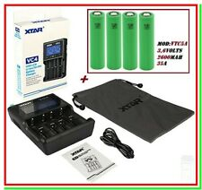 Xtar Vc4 Charger with 4 Charging Slots for LiIon NiMH Rechargable Batteries