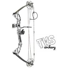 55lb Rex Compound Bow Package includes carbon arrows and biscuit arrow rest
