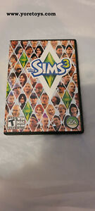 2009 EA The Sims 3 Windows Mac DVD ROM Complete with Guide and Case