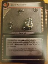 Star Trek CCG These Are the Voyages 12U38 Neural Transceiver NM-Mint TCG