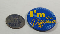 I'm The Difference 1998 Stakeholder Pinback Collectible Pin Rare Vintage