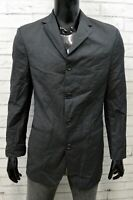 Hugo Boss Uomo Taglia 48 Giacca Blazer Lana Extrafin Jacket Man Basic Cappotto