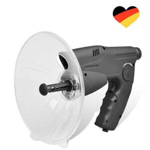 Parabol-Richtmikrofon mit Kopfhörer & Aufnahmefunktion Zieloptik 12Sek Aufnahme