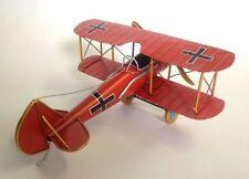 Blechmodell Fokker D.VII von 1918, 1.Weltkrieg 26cm Spannweite