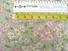 Cotton fabric Moda Dogwood Trail II steel flowers Quilt fabric 0.54yd (0.5m)