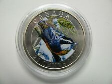 2007 Specimen 25 cents Birds of Canada #2-Red-Breasted Nuthatch COIN ONLY quarte