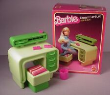 1978 Barbie Doll  Dream furniture for House #2467 Desk & Seat in Box Mattel
