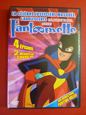 Fantomette Fight For Furtive-Ville DVD French Cover Bilingual RARE HTF