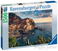 Ravensburger Cinqe Yerre Viewpoint 1500 Piece Jigsaw Puzzle Brand New and Sealed
