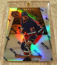 WAYNE GRETZKY 1997-98 PINNACLE CERTIFIED MIRROR GOLD PARALLEL WITH COATING #100