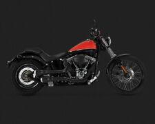 Vance & Hines Black HI Output Grenades Harley-Davidson Softail 1986-2017 46848