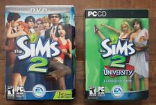The Sims 2 (PC, 2004) + The Sims 2: University Expansion Pack (PC, 2005)