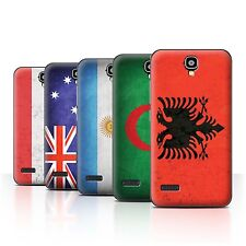 STUFF4 Back Case/Cover/Skin for Huawei Y5 /Y560/Flags