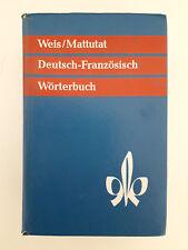 Ancien Dictionnaire Allemand-Français DEUTSCH-FRANZÖSISCH WÖRTERBÜCHER (1967)