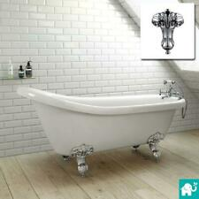 1720mm Cambridge Traditional Roll Top Slipper Bath - Ball Feet