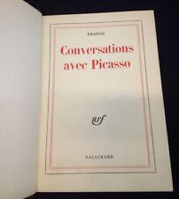 Envoi autographe signé Brassai - Conversation avec Picasso 1964 1ere Ed.