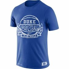 Nike Mens NCAA Duke Blue Devils Basketball Dri Fit Crest T-Shirt Tee XXL NEW $35