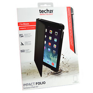 Tech21 Official Impact Folio Rugged Book Case Cover Stand For iPad Air 1St Gen