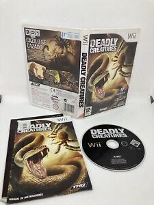 Deadly Creatures Nintendo Wii Pal España