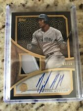 2019 Topps Series 2 Miguel Andujar Reverence Patch Auto Yankees Autograph #2/10