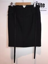 Miu Miu Women's Black Skirt, Size 40 / UK 8