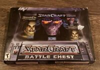 AS-IS Blizzard StarCraft Battle Chest 90s 1998 Video Game PC - MISSING DISC
