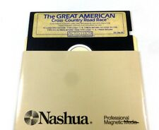 Commodore 64/128: The GREAT AMERICAN Cross Country ROAD RACE - C64 disk + DEMOs