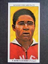 The Sun Soccercards 1978-79 - Ferreira Eusebio - Portugal #251