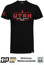 Official Diesel Power Gear 'Utah Trucks' T-Shirt - Dodge Ram, Diesel Sellerz