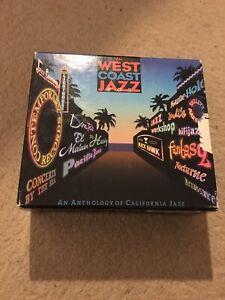 The west coast Jazz box rare 4cd contemporary records California jazz colle