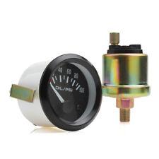 Oil Pressure Gauge Blue 0PSI-100PSI Aluminum alloy Bolts Pack With Sender 12V