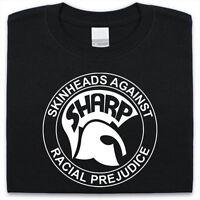 SHARP Makes T-Shirt Mens Womens Skinheads Against Racial Prejudice