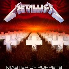 Metallica - Master Of Puppets Vinyl LP Heavy Metal Sticker, Magnet