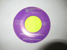 "IKE AND TINA TURNER - HURT IS ALL YOU GAVE ME / GOODBYE SO LONG 7"" 45 EX"
