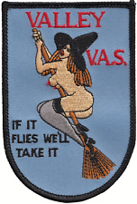 Valley Aviation Society VAS 'If It Flies We'll Take It' Embroidered Patch