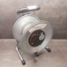 HEDI Metall Kabeltrommel leer 3 Schutzkontakt Steckdosen  IPX4  K1S000TF