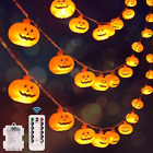 Battery Operated 8 Mode Waterproof 40 LEDs 20FT for Halloween Party Decorations