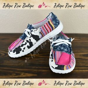 🌹 Very G Gypsy Jazz Groovy Pink Fashion Sneakers