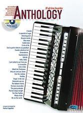 Anthology (Accordion), Volume 1 Accordion Sheet Music, CD Instrumental Album