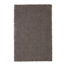 Reduce the Risk of Slipping Rug, high pile HÖJERUP Grey-brown,120x180 cm