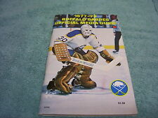 NHL BUFFALO SABRES 1977-1978 MEDIA GUIDE / YEARBOOK GIL PERREAULT GREAT COND!