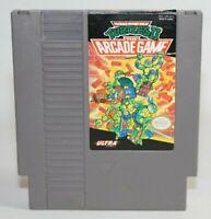 Teenage Mutant Ninja Turtles II: The Arcade Game NES Nintendo Authentic & Tested